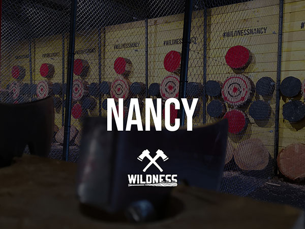 WILDNESS, lancer de hache Nancy