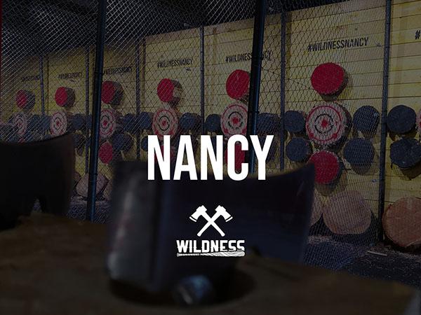 WILDNESS, lancer de hache Nancy