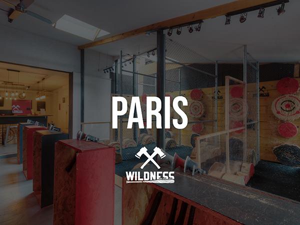 WILDNESS, lancer de hache Paris